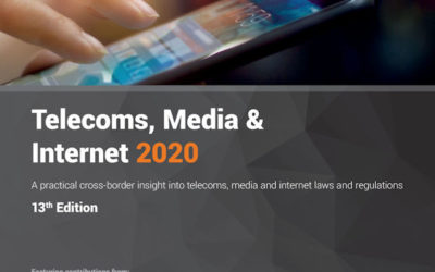 Soyer & Soyer contribue au guide de renom ICLG Telecoms, Media & Internet 2020 pour la France